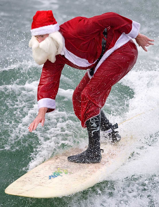 Surfin Santa play December 21st at 12:30 PM and 6:00 PM